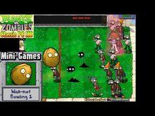 Plants vs. Zombies - Wall-nut Bowling 2 Mini-Games - Classic PC HD (Ep