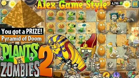 Plants vs. Zombies 2 New Pharaoh Zombie Ancient Egypt Day 12 (Ep