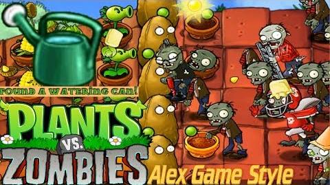 Plants vs. Zombies Adventure Found a Watering Can level 5-4 Roof (Android Gameplay HD) Ep