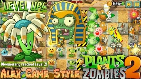 Plants vs. Zombies 2 Level UP Bloomerang Ancient Egypt Day 15 (Ep
