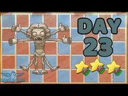 Plants vs Zombies 2 China - Renaissance Age Day 23 -Last Stand-《植物大战僵尸2》- 复兴时代 23天