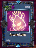 Arcane lotus sticker