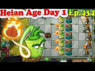 Plants vs. Zombies 2 (China) - New Wasabi Whip - Heian Age Day 1 (Ep