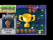 Plants vs. Zombies - M is for Metal Puzzle - Classic PC HD (Ep