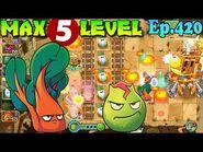 Plants vs. Zombies 2 (China) - Chard Guard level 5 New costumes (Ep