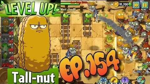 Plants vs. Zombies 2 Got a new Plant Tall-nut - Wild West Day 18 (Ep