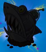 Zombot Sharktronic Sub silhouette