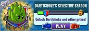 Dartichoke's Selective Season Menu