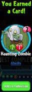 Earning Haunting Zombie