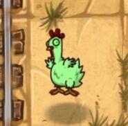 Fainted Zombie Chicken