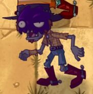 Poisoned Poncho Zombie without Grate