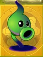 Shadiw Peashooter Gold Tile 1