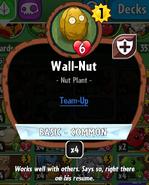 Wall-nut stats