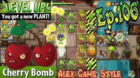 Plants vs. Zombies 2 Got a new Plant Cherry Bomb - Pirate Seas Day 24 (Ep