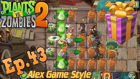 Plants vs. Zombies 2 Vasebreaker Pirate 3x3 Spring Rollers Buttery Birdies (Ep