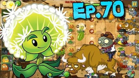 Plants vs. Zombies 2 (Chinese version) Plants Level UP Wild West Day 13 (Ep