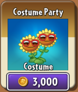 Costume Party Twin Sunflower