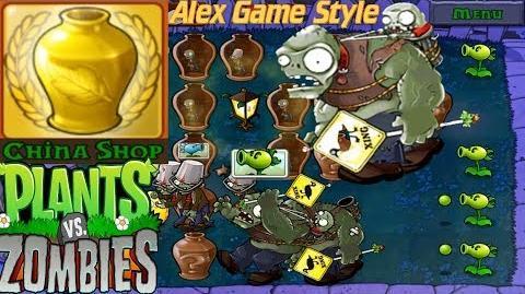 Plants vs. Zombies - Vasebreaker Endless Streak 1-15 Achievement China Shop (Android HD) Ep