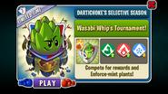 Dartichoke's Selective Season - Wasabi Whip's Tournament
