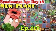 Plants vs. Zombies 2 (China) - New Kinnikannon - Renaissance Age Day 18 (Ep