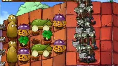 Plants_vs_Zombies_-_Survival_Roof_Hard_-_No_Sunflower