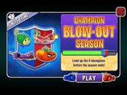 Champion Blow-Out Season Ending A