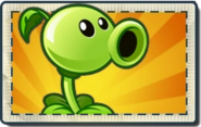 Peashooter Boosted Seed Packet