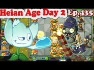 Plants vs. Zombies 2 (China) - New Water Lotus Firework Zombie - Heian Age Day 2 (Ep