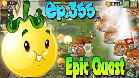 Plants vs. Zombies 2 - SOLAR TOMATO - Epic Quest Premium Seeds (Ep