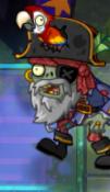 Pirate Captain Zombie in Neon Mixtape Tour