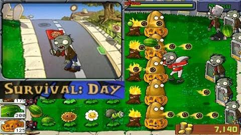 Plants vs. Zombies - Survival - Day (Android Gameplay HD) Ep