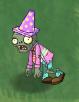Shrunken Springening Conehead Zombie