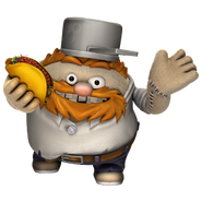 LBP Crazy Dave Costume Little Toggle