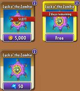Luck O' the Zombie Piñatas