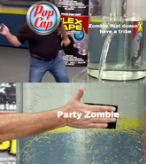 Party meme by flag zombie