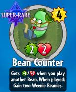 Receiving Bean Counter