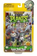 Zomboss Crazy Dave and Lawnmageddon combo pack