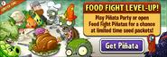 Food Fight Level Up Main Menu