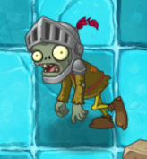 Knight Zombie in Frostbite Caves