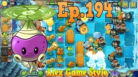 Plants vs. Zombies 2 Got a new Plant Rotobaga, Level Up - Frostbite Caves Day 26 (Ep