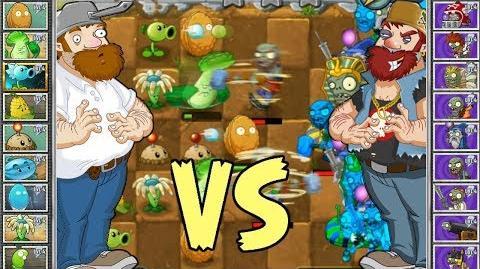Plants vs Zombies - 👾 Crazy Dave contra Evil Dave Battle 👾