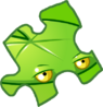 Lily Pad Puzzle Piece