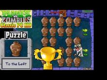 Plants vs. Zombies - To the Left Puzzle - Classic PC HD (Ep