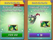 Zoybean Pod Bundle & Piñata Feastivus