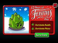 12 Days of Feastivus 2020 Day 2 Dartichoke