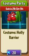 CostumePartyHollyBarrier