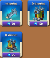 Gauntlets Store New
