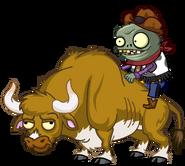 HD zombie bull