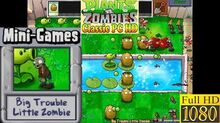 Plants vs. Zombies - Big Trouble Little Zombie Mini-Games - Classic PC HD (Ep
