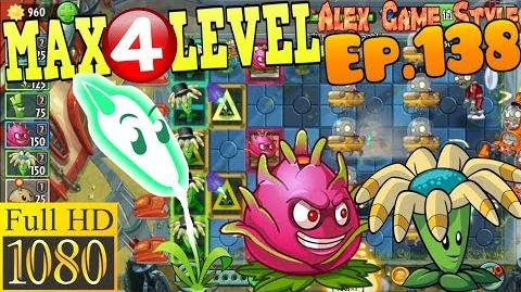 Plants vs. Zombies 2 (China) - Lightning Reed MAX 4 level - Far Future Day 23 (Ep